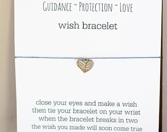 Guardian Angel Wish Bracelet