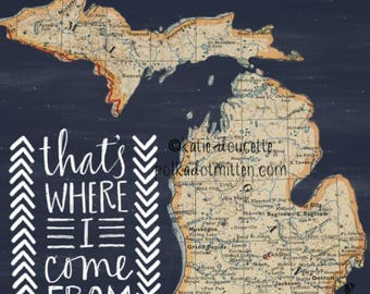 That's Where I Come From Michigan