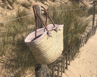 Straw basket and his(her,its) cover in Liberty