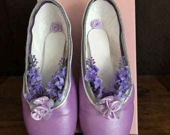 Lilac Fairy Pointe shoes