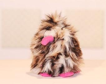Hermie Fuzzyfutz soft sculpture plush
