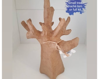 Decopatch small tree maché item or full kit