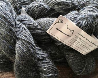Mountain Mohair Yarn - Midnight Blue