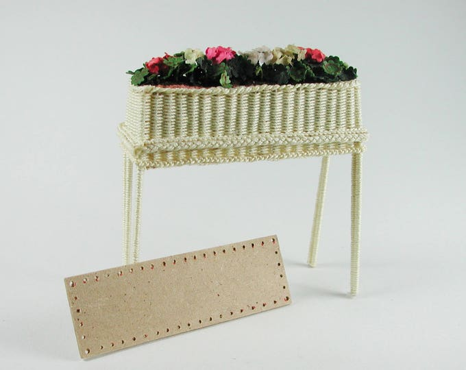 Boards approx. 8 x 2.5 cm, for flower bench, floor for Wicker, for tinkering for the doll's room, Dollhouse miniatures, model making, 90008