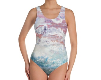 Wave of Life One-Piece Swimsuit