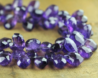 Purple Amethyst Two Strand Statement Necklace