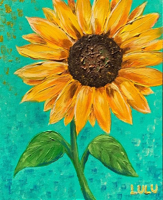 Sunflower- Art Print