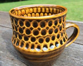 Dotted Handmade Ceramic Mug - Bmix