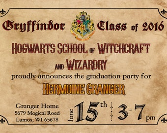 hogwarts diploma