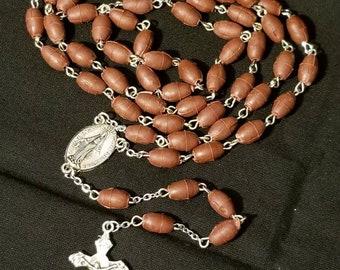 Handmade Scented Rose Petal Bead Rosary.