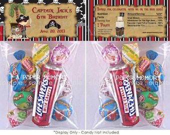 Pirate Goody Bag Topper DIY Printable