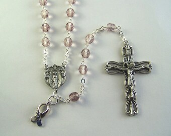 Lavender Awareness Rosary