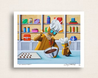 The Chocolatiers - robots can do anything - Limited Edition Signed 8x10 Semi Gloss Print (5/10)