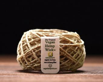 Vegan Hemp Wick