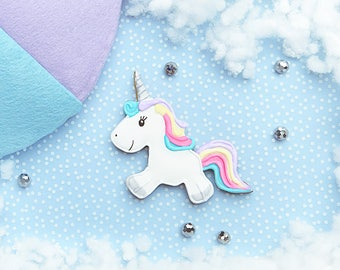 Sparkles the Unicorn - Cookie Cutter