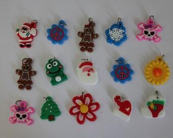 15 x charms to accessorize your bracelets, jewelry...