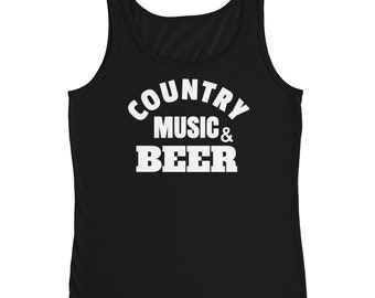 Country Music & Beer Festival - Concert Tank Top for Music Fans