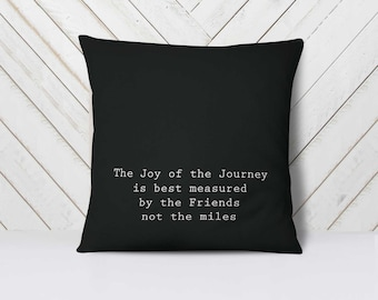 Moving Away Gift, Friends Quotes, Pillows with Quotes, Pillows with Sayings, Friendship Pillow, Farewell Gift, Friendship Decor // 18x18