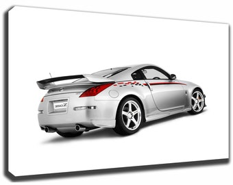 NISSAN 350Z NISMO Canvas/Poster Wall Art Pin Up HD Gallery Wrap Room Decor Home Decor Wall Decor