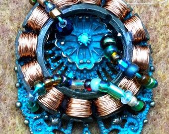 Copper Bolly Pendant