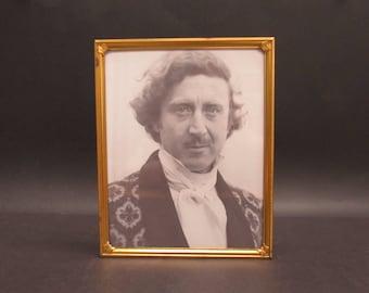 Vintage Gold 8x10 Photo Frame with Gene Wilder (E9774)