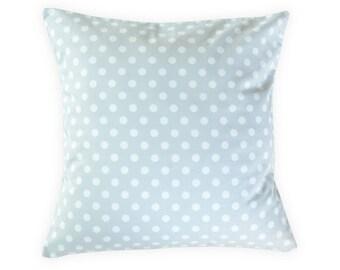 Gray Dots Pillow Cover - Gray Modern Pillow Cover - Neutral Pillow Cover