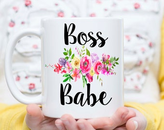 Boss Babe Mug, Boss Lady Mug, Girl Boss Mug, Gift for Boss, Gifts for Female Boss, Boss Gift, Entrepreneur Gift, Entrepreneur Mug, Boss Lady