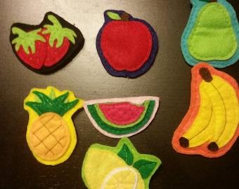 Felt Fruit Pin