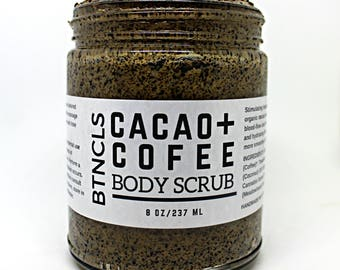 Cacao + Coffee Body Scrub