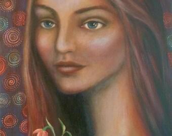 Eleanor, Original Painting.