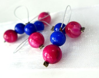 SALE - Rose Tyler - Doctor Who Companions Series - Five Snag Free Stitch Markers - Fits Up To 5.5 mm (9 US) - Limited Edition