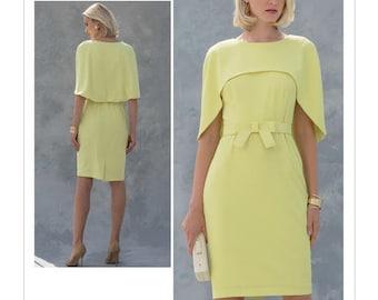V1579 Designer Badgley Mischka Vogue dress sewing pattern