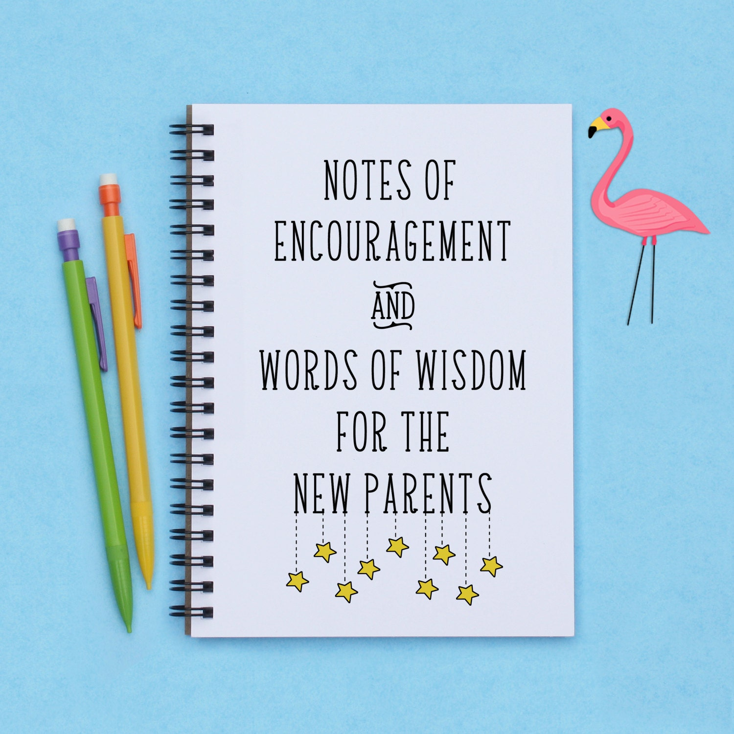 baby shower gift Notes of Encouragement and Words of Wisdom
