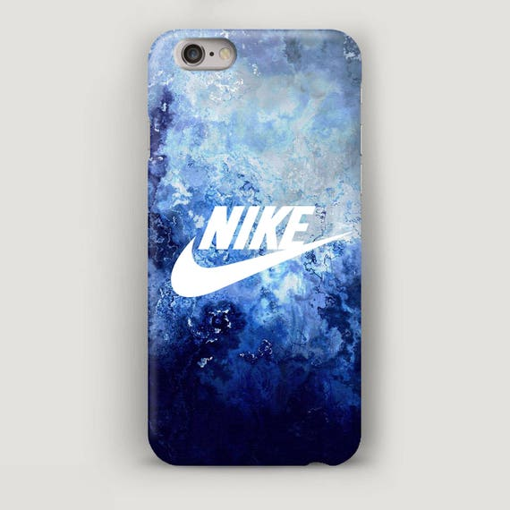 Nike Iphone 7 Case Blue Marble Iphone 7 Plus Case Iphone Se