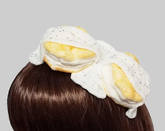 Delicious Biscuits and Gravy Fascinator ~ Made to Order