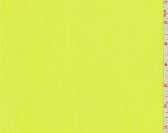 Vibrant Yellow Textured Chiffon, Fabric By The Yard