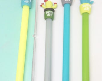 Cute Kawaii Cacti Cactus Gel Pen