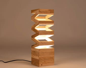 Akoredeoia Wooden Design Table Lamp