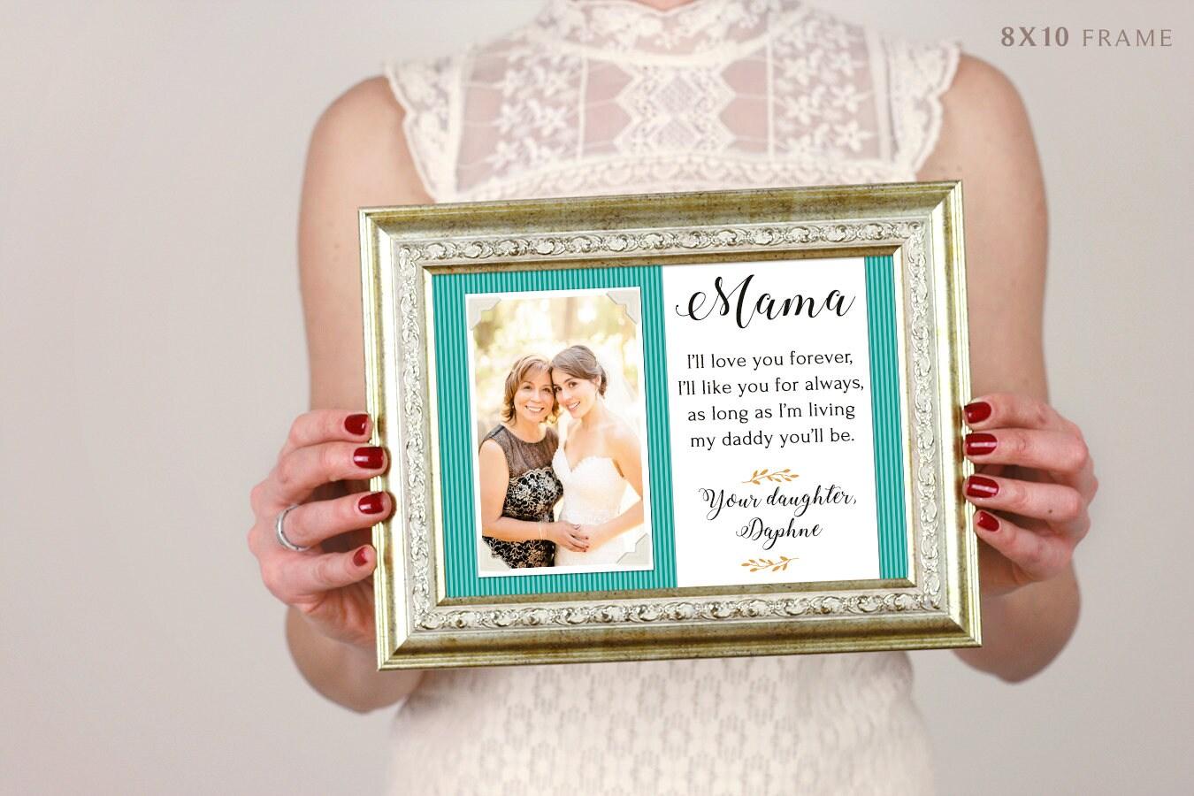 Mutter Mutter Geschenk personalisierte Bilderrahmen \' ich