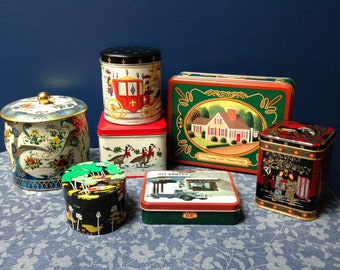 Tea Tins (all 7 for the price)