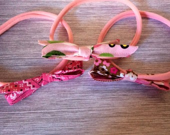 Baby Headbands, bow headband, newborn headband, baby headband, mini bow headband, knotted headband, summer headwrap, baby headwrap