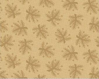 8207 0142 / Marcus Brothers / Pieceful Pines / Fabric / Pam Buda / Tan