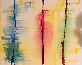 Three Scars: 12X12 Original Art