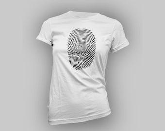 Fingerprints Womens T Shirt
