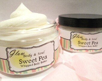 Sweet Pea Body Butter Paraben Free Body Butter Lotion