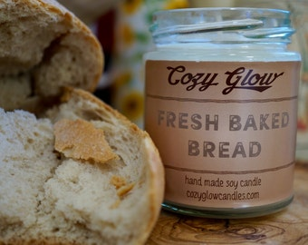 Fresh Baked Bread Soy Candle 6.8 ounce Jar