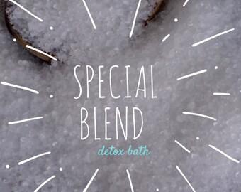 Detox Bath Salts, Special Blend Detox Bath