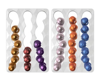 CapsuleSlide 2-Pack Nespresso Magnetic Fridge Mount