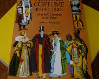 1975 Historic Costume in Pictures by Braun & Schneider