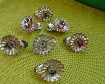Vintage Metal Candle Clip On's